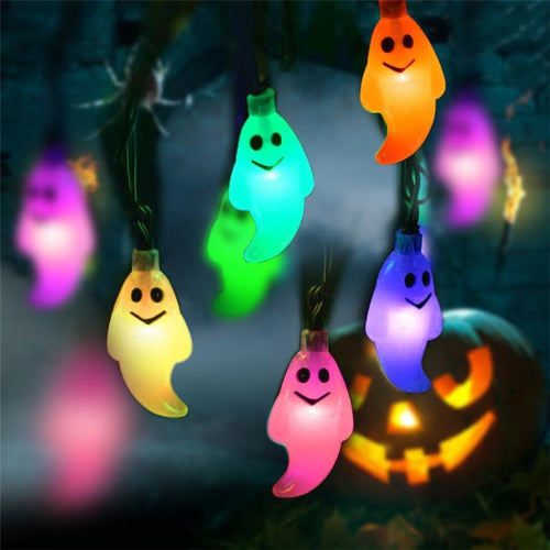 1.2M 10LED Ghost String Lights For Halloween Party Halloween String Lights