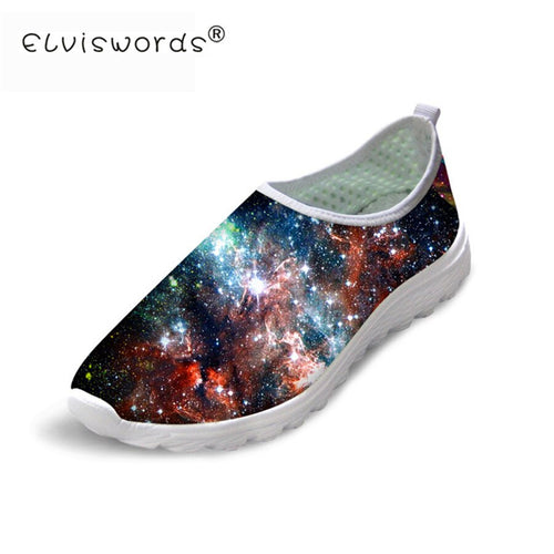 Starry Sky Casual Shoes Fashion Walking Flats