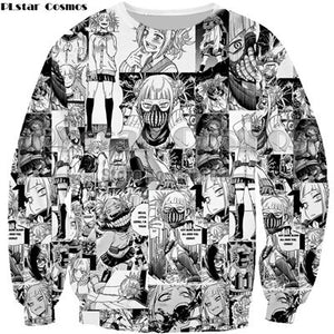 Plus Size Anime Boku No Hero My Hero Cosplay sweatshirt