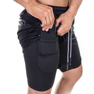 Secure Pocket Fitness Shorts M / 1