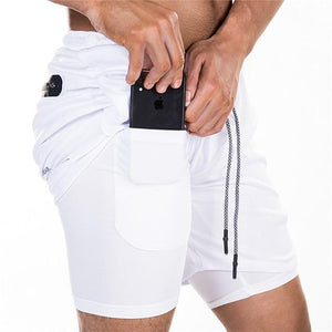 Secure Pocket Fitness Shorts M / 2