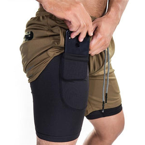 Secure Pocket Fitness Shorts M / 5