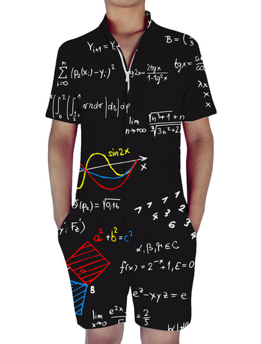 3D Print Abstract Mathematical Mens Romper