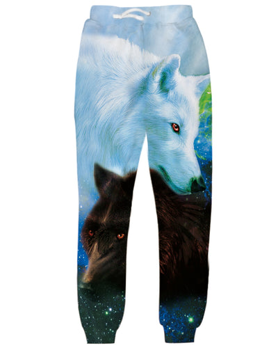 Animal Wolf Jogger Pants Sweatpants