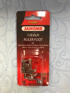 Ruler Foot _-High Shank Janome