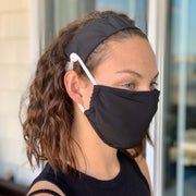 TT Face Mask - Black (incl 2.5m Filters)