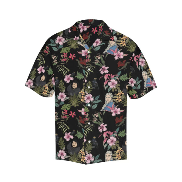 Game Of Flowers - S / Black - All-Over Shirts