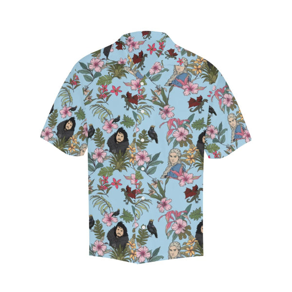 Game Of Flowers - S / Lightblue - All-Over Shirts