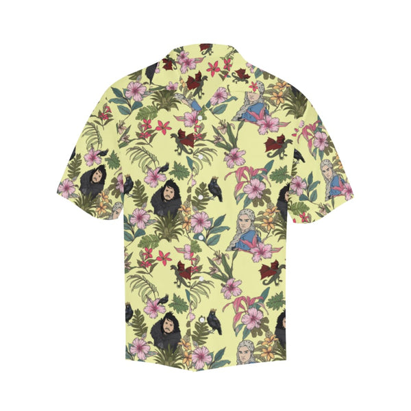 Game Of Flowers - S / Lightyellow - All-Over Shirts