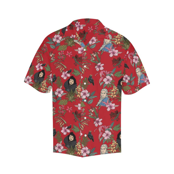 Game Of Flowers - S / Red - All-Over Shirts