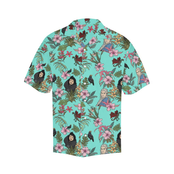 Game Of Flowers - S / Turquoise - All-Over Shirts