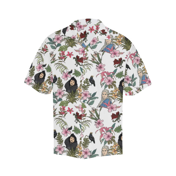 Game Of Flowers - S / White - All-Over Shirts