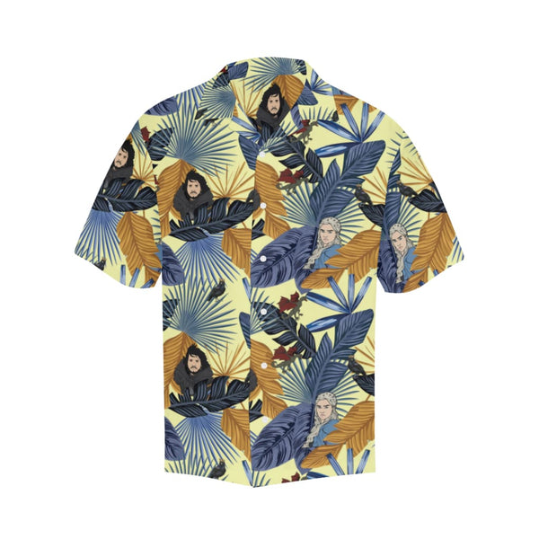 Game Of Palms - S / Lightyellow - All-Over Shirts