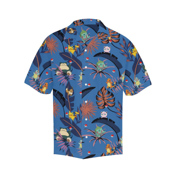 Retro Tropokemon - S / Cornflowerblue - All-Over Shirts