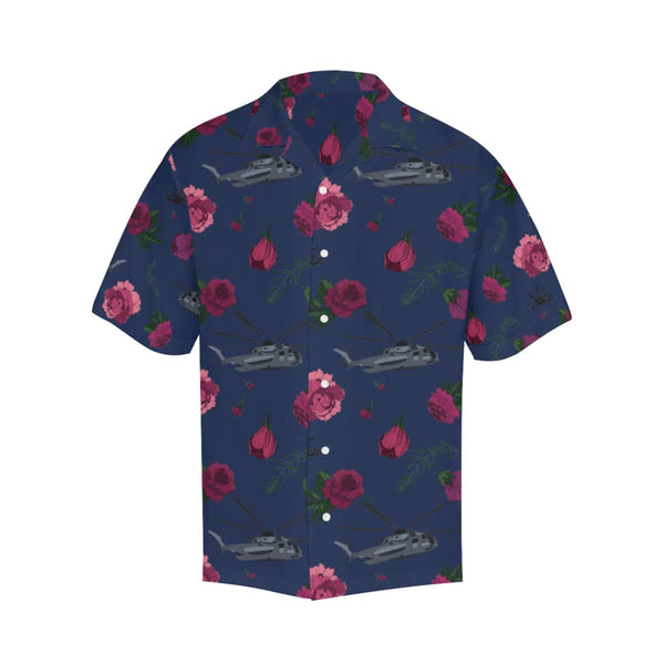 Shitters And Roses - S / Navy - All-Over Shirts