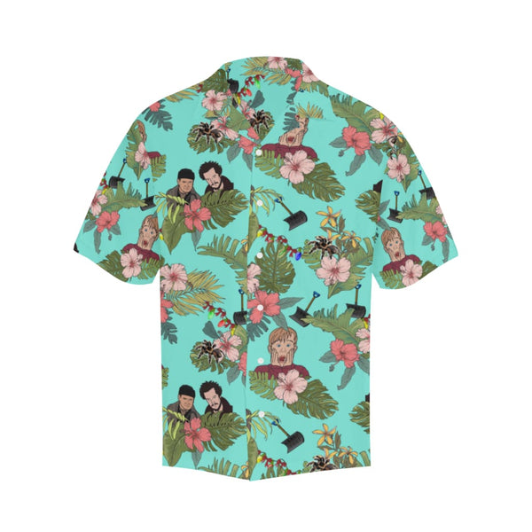 The Home Alone - S / Turquoise - All-Over Shirts