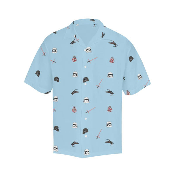 The Non-Trop Awakens - S / Lightblue - All-Over Shirts