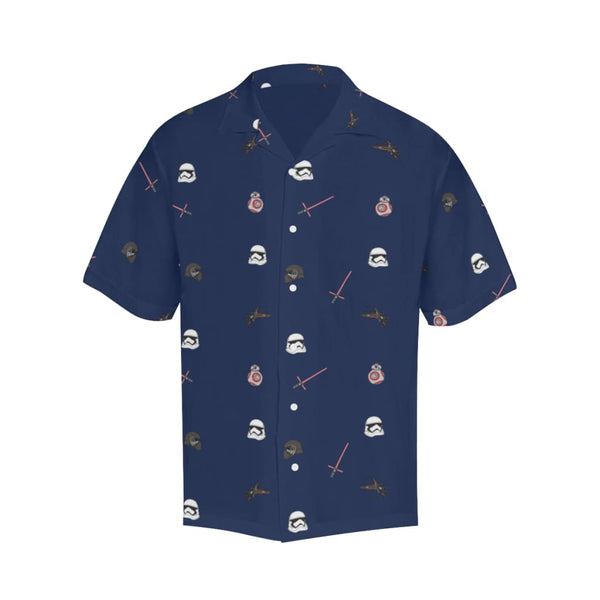 The Non-Trop Awakens - S / Navy - All-Over Shirts