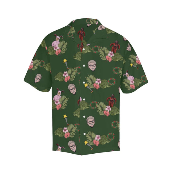 The X-Mas Story - M / Dark Green - All-Over Shirts