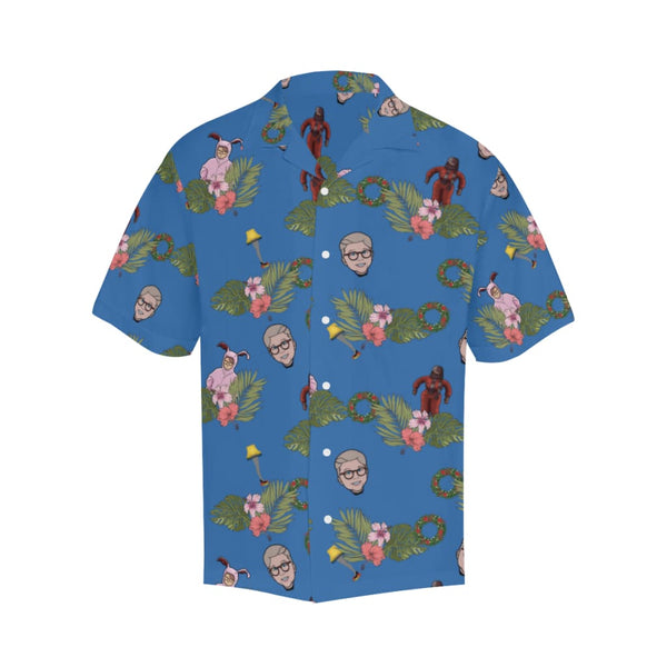 The X-Mas Story - S / Cornflowerblue - All-Over Shirts