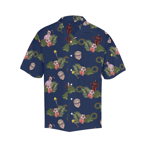 The X-Mas Story - S / Navy - All-Over Shirts