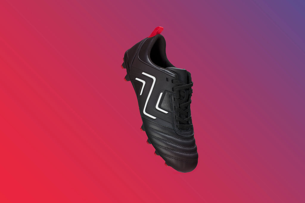 All Black Football Boots