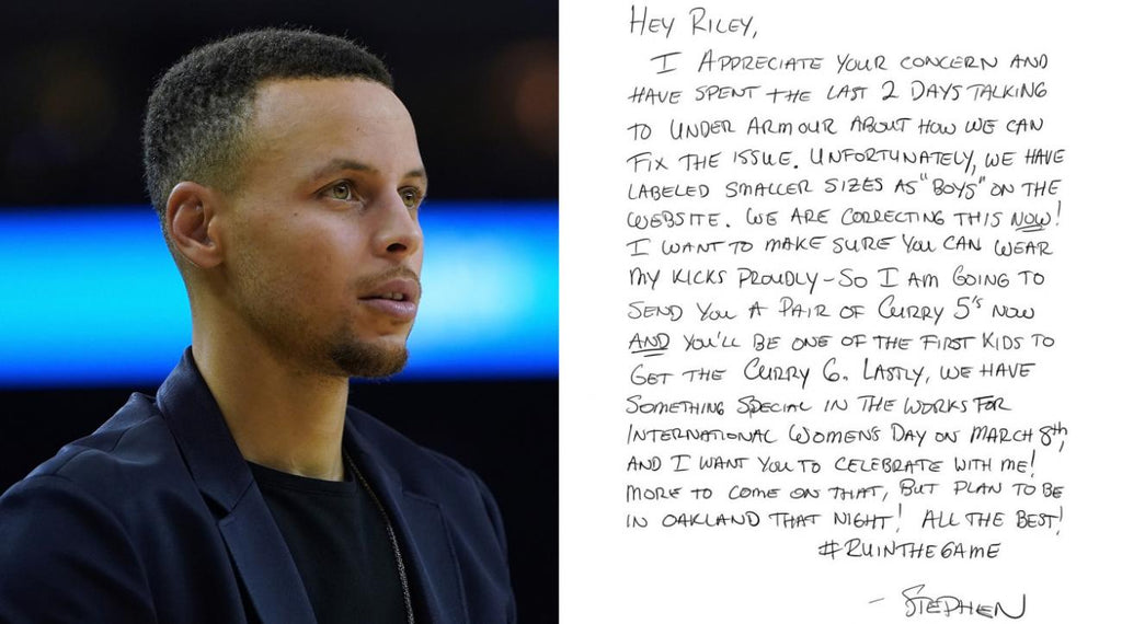 We love Steph Curry, but there's a broader issue here.