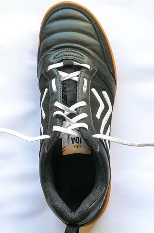 High instep lacing
