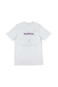 EXCLUSIVE 3D WOLFPACK UFO WHITE SHIRT