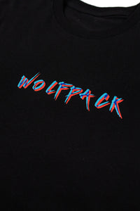 EXCLUSIVE 3D WOLFPACK UFO BLACK SHIRT