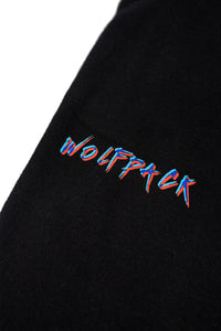EXCLUSIVE 3D WOLFPACK BLACK JOGGERS