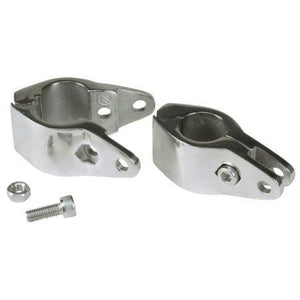 PAIR OF BIMINI TOP RAIL MOUNT JAW SLIDE