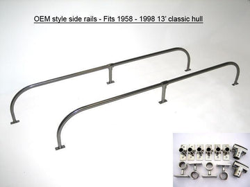 SIDE RAILS - CLASSIC 13' SPORT BOSTON WHALER (OEM STYLE)