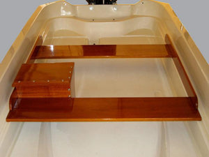 BOSTON WHALER 13' SPORT MAHOGANY WOOD INTERIOR