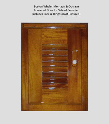 TEAK LOUVERED DOOR (SMALL)