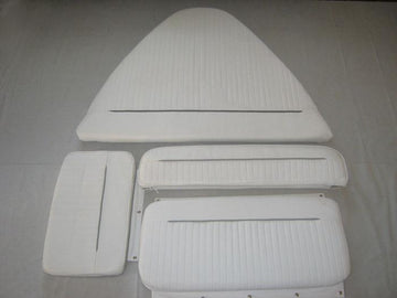 BOSTON WHALER DAUNTLESS 15' COMPLETE CUSHION SET (BRIGHT WHITE)