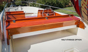 BOSTON WHALER SUPER SPORT DELUXE MAHOGANY WOOD INTERIOR 15'