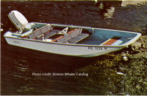 BOSTON WHALER SOURPUSS INTERIOR FOR 13' AND 15'