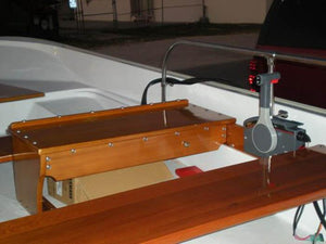 BOSTON WHALER 15' SPORT MAHOGANY WOOD INTERIOR