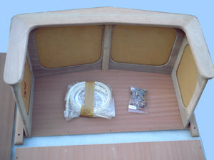 BOSTON WHALER 16'/17' NAUSET,SAKONNET, EASTPORT OR MONTAUK CONSOLE DIY KIT
