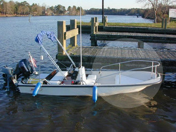 BOSTON WHALER CLASSIC 15' BOW RAIL - OEM STYLE