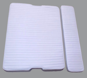 BOSTON WHALER 16'/17' RPS SEAT CUSHION SET (BRIGHT WHITE)