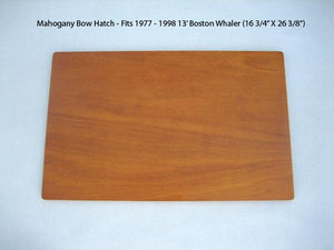 BOSTON WHALER MAHOGANY BOW HATCH - FITS CLASSIC 13' 1977-1999