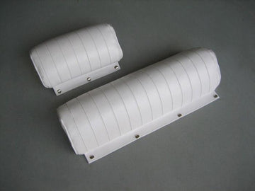 BOSTON WHALER 130 & 150 SPORT BACKREST CUSHIONS - FITS 130 & 150 SPORT MODELS 2000-2008 (BRIGHT WHITE)