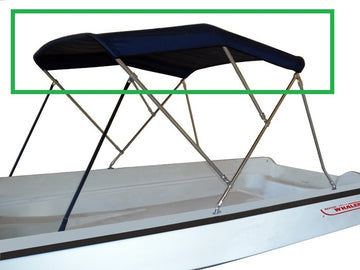 SPECIALTY MARINE BIMINI *CANVAS ONLY* FOR  13, 15, 17 classics and 130 sport
