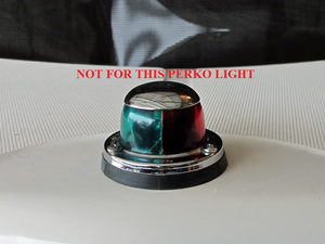 BOSTON WHALER CLASSIC BOW LIGHT LENSE REPLACEMENT *NOT FOR PERKO*