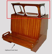 *WINDSHIELD ONLY* FOR EASTPORT, NAUSET MAHOGANY CENTER CONSOLE