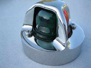 BOSTON WHALER CLASSIC BOW LIGHT (1958-1984), NAVIGATION LIGHT (LED) 316 STAINLESS; *NOT PERKO*