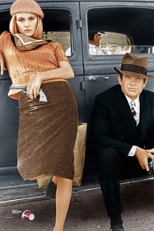 Stylish Vintage Movie Icons_ThisBlueBird Blog Faye Dunaway Bonnie and Clyde Movie
