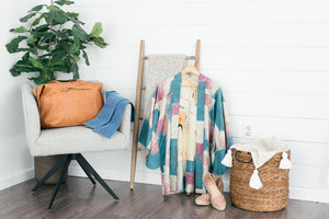 ThisBlueBird Modern Vintage Silk Kimonos, Clothing, and Accessories for Women
